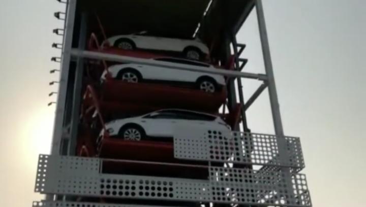 首个汽车自动贩卖机落地广州:刷脸提车