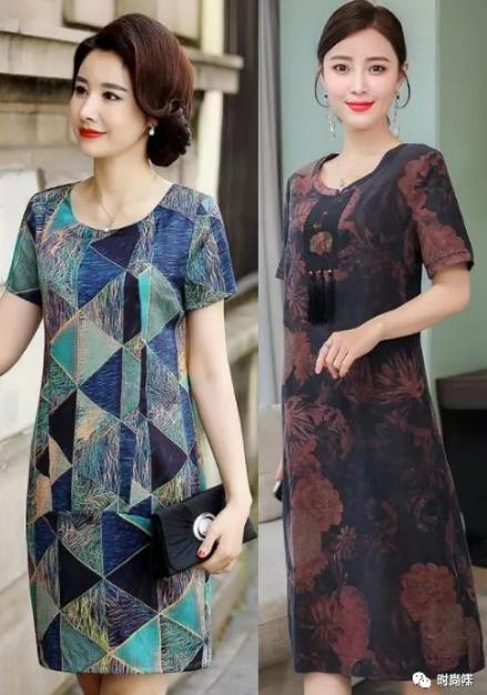炎炎夏季,中老年若何穿才不錯看?這幾款穿搭有女生味 形象穿搭 第3張