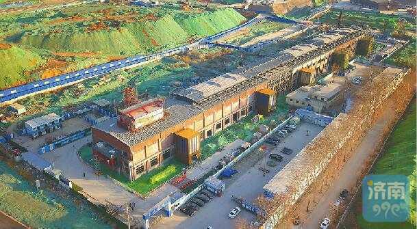 澳门银河金沙娱乐:济南CBD建设火力全开,文服中心5月底将竣工交付使用