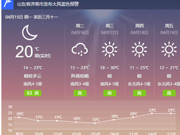 济南明晨小雨,后天冲刺30℃,四月的雨为啥眷顾济南?
