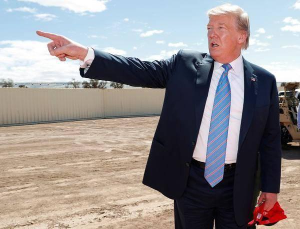 """""""拉锯战""""落幕?美最高法院允许特朗普花25亿美元军费建边境墙"""