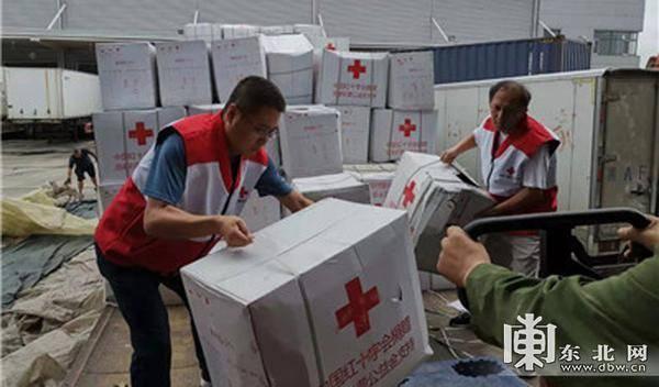 中国红十字会总会调拨近60万元物资支援黑龙江省救灾