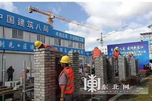 黑龙江百大项目建设劳动和技能竞赛现场推进会举行