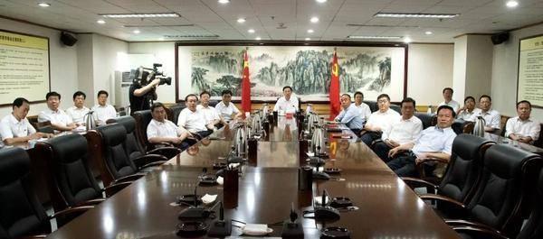 市委常委会收看庆祝新中国成立70周年大会实况