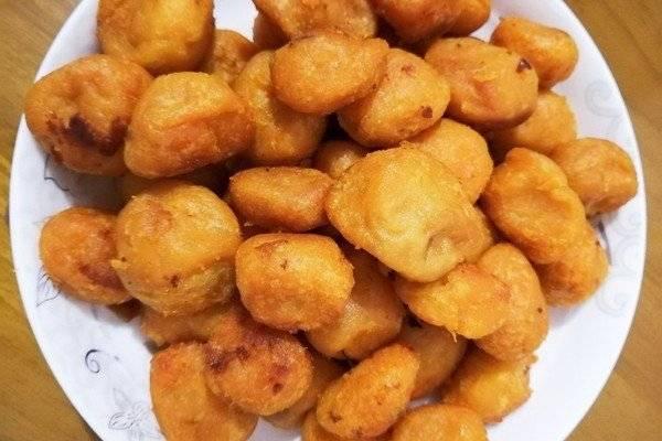 正值红薯大量收获的季节,快试试红薯丸子,香甜可口外酥里软