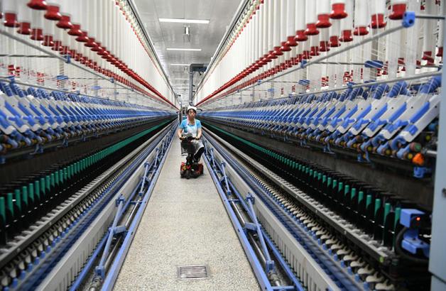 魏桥纺织股份有限公司智能化纺纱厂