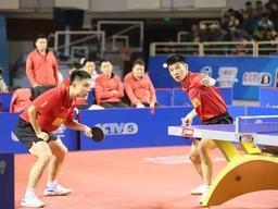 乒超联赛揭幕山东魏桥新赛季首秀零封对手取得开门红