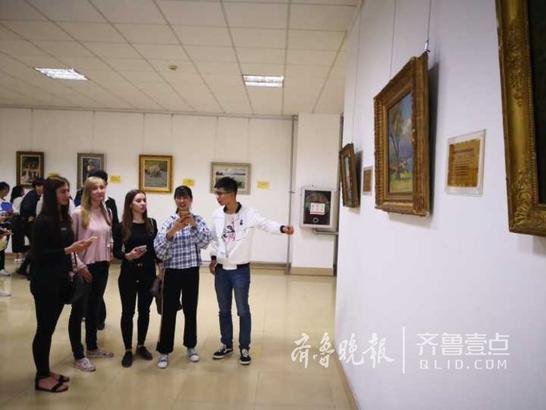 本次画展为期两个月,将免费向市民开放。 齐鲁晚报•齐鲁壹点记者 潘旭业 通讯员 刘志刚