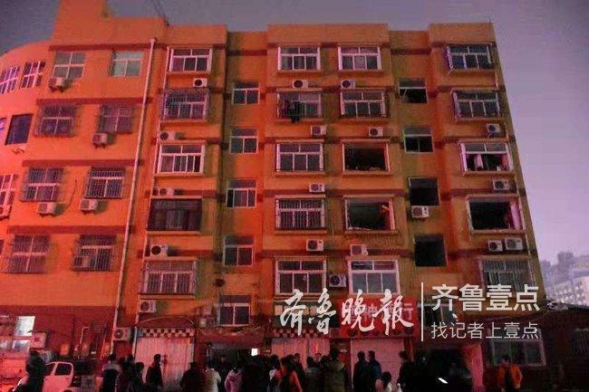 聊城:住宅楼煤气罐发生爆炸,当时住户正在做饭