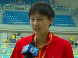 山东省运会15岁小将200米混合泳夺金!长相酷似叶诗文