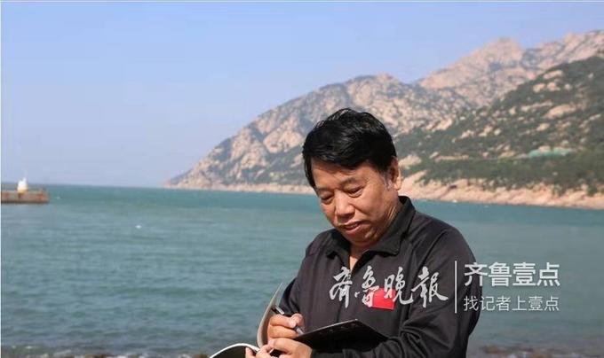 10月10日至14日,崂山风景区迎百名知名画家,画家们用笔墨描绘崂山秋姿。