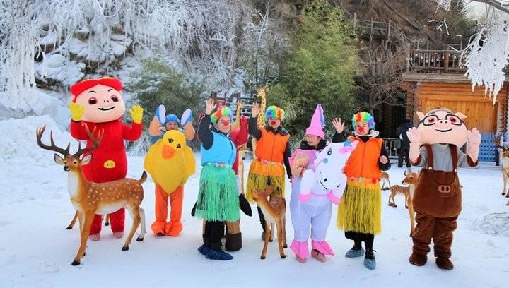 冰雪、篝火、北欧木屋……九如山进入冰雪狂欢季!
