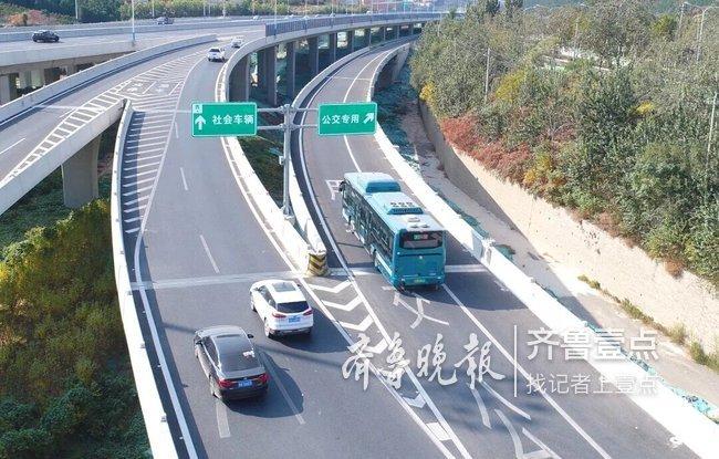 济南成全国首个BRT成网城市 明年公交将推