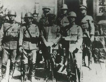 武装分子:掌故济南火车站旁边有一个日本宪兵队