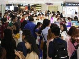 代购人员在韩国免税店起冲突,使馆呼吁维护良好形象