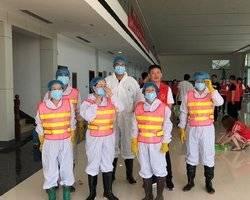 博兴县开展灾后防疫  守护受灾群众安全