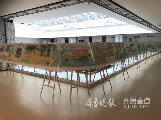 此次展览共展出500余幅优秀作品,包括美术、书法、摄影、民间文艺、少儿绘画等部分。齐鲁晚报·齐鲁壹点 记者 张永斌
