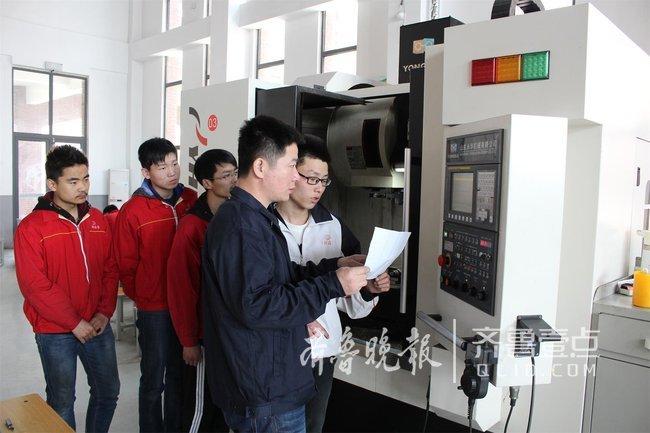 济宁市工业技师学院毛广学:把模具搞成省级创意作品