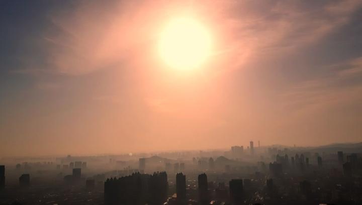 果然龙8丨犹如一支晨曲,航拍蓝天下的济南老城区