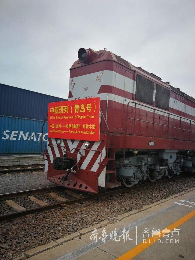 51车货物从青岛出发运往哈