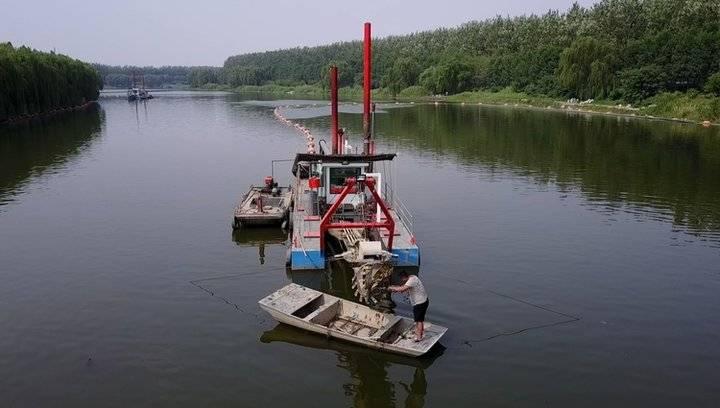 果然视频 济南小清河清淤接近尾声,河道美多了