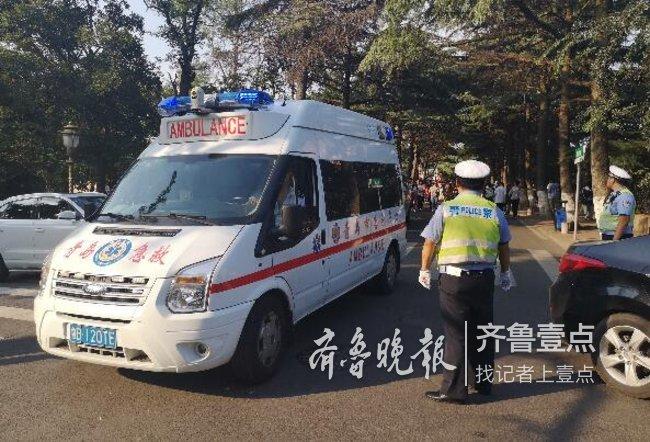 1歲兒童因病昏厥 民警開通綠色通道火速救援