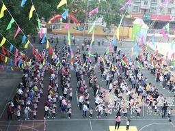 情报站|茌平县实验幼儿园举办中班亲子运动会