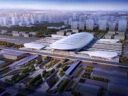 山东第三大高铁站!鲁南高铁临沂北站设计图新鲜出炉